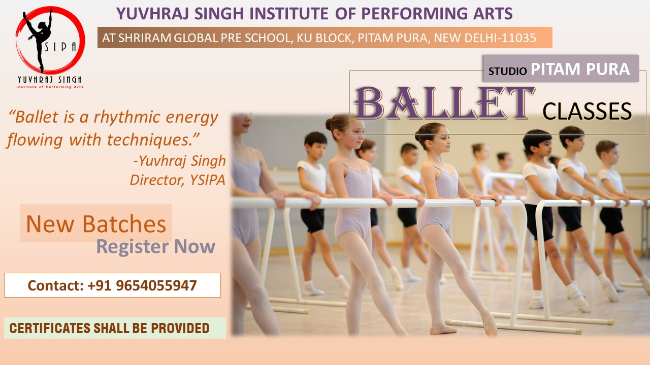 YSIPA BALLET CLASSES IN PITAM PURA, DELHI
