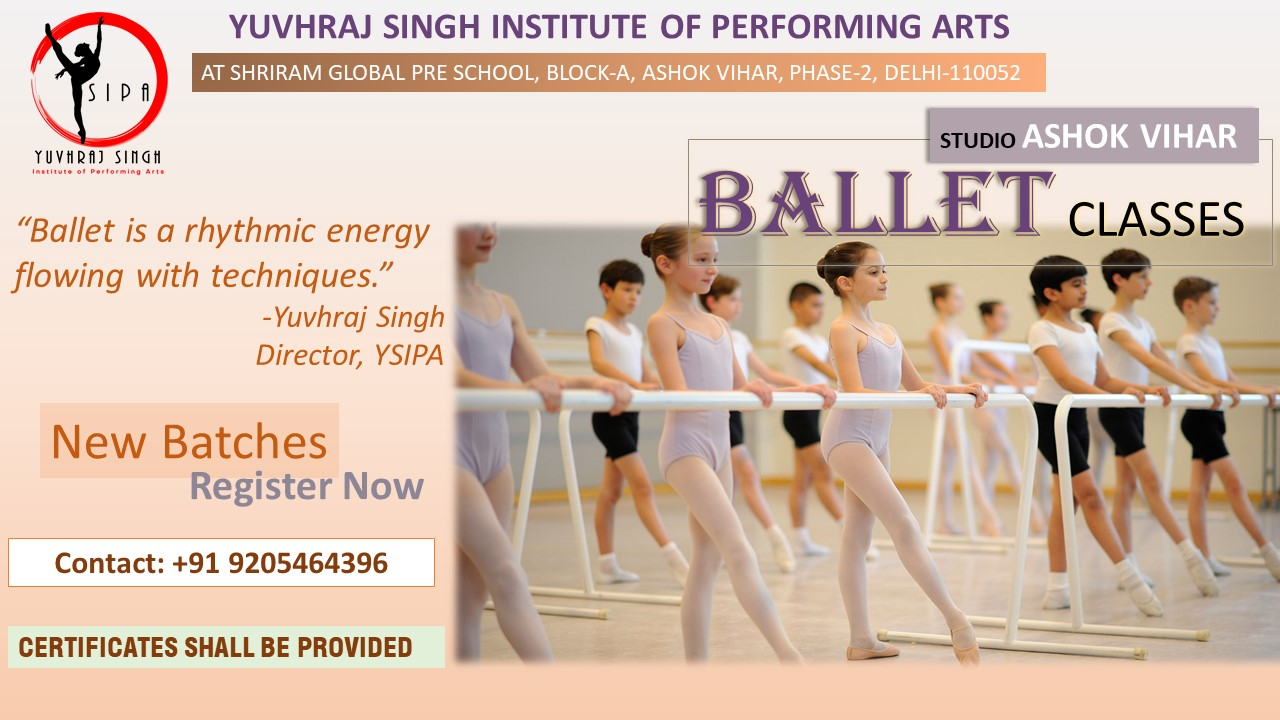 YSIPA BALLET CLASSES IN ASHOK VIHAR, DELHI
