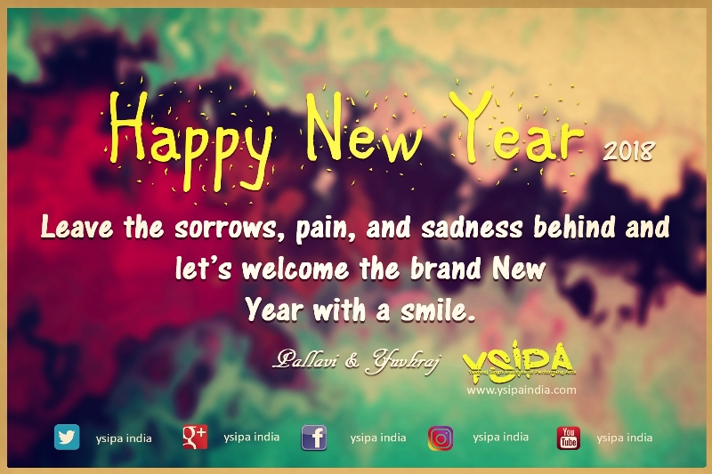 happy new year 2018 from ysipa